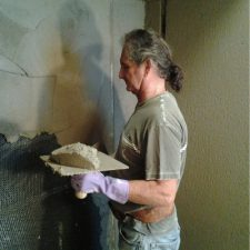 M. Joe Bermudez, licensed & bonded tile contractor, owner, Ceramic Finishes, Alhambra, Ca