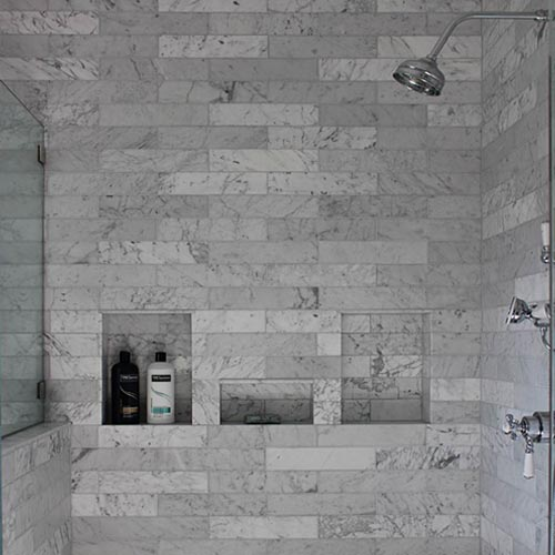 Ceramic-Finishes-Carrara-Marble-Shower