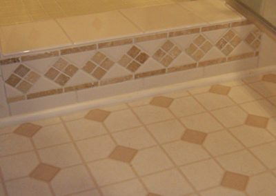 Vintage Shower Tile by Ceramic Finishes, Tile Contractor, Southern California