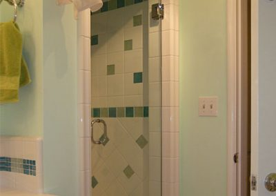 Vintage Bathroom and Shower Remodel by Ceramic Finishes